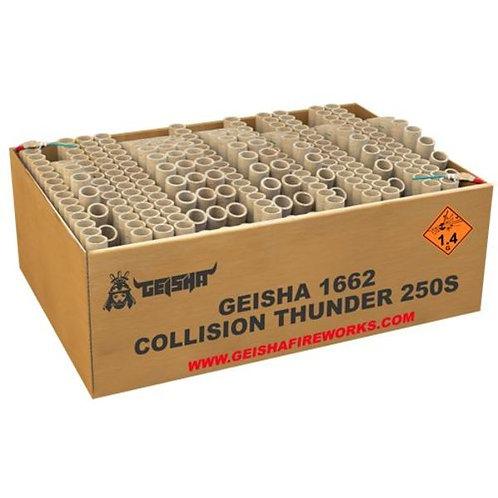 Collision Thunder - 250 Schuss XXL Fan Verbundfeuerwerk