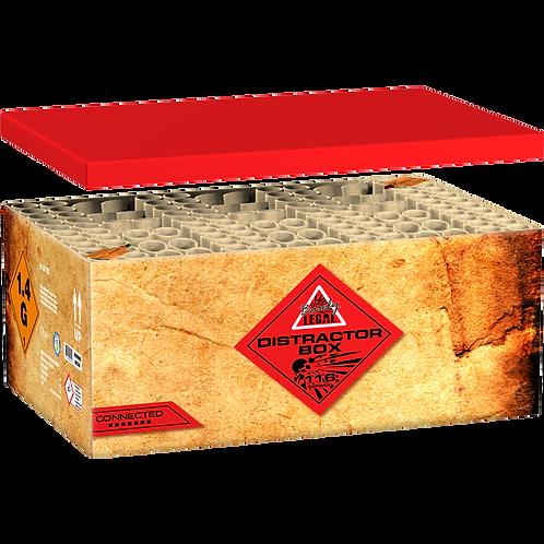 Distractor Box - 116 Schuss XXL Mega Verbundfeuerwerk