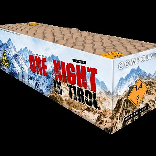 One Night in Tirol - 75 Schuss Verbundfeuerwerk 25mm KATAN