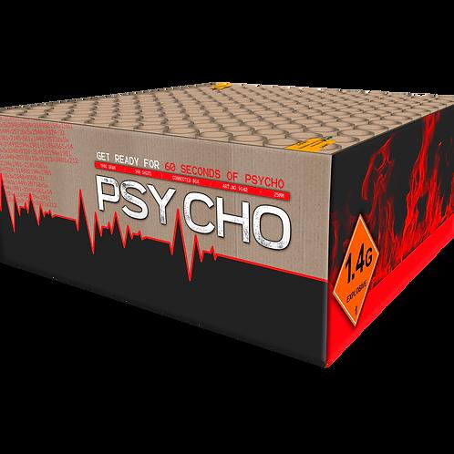Psycho  - 144 Schuss XXL Verbundfeuerwerk KATAN