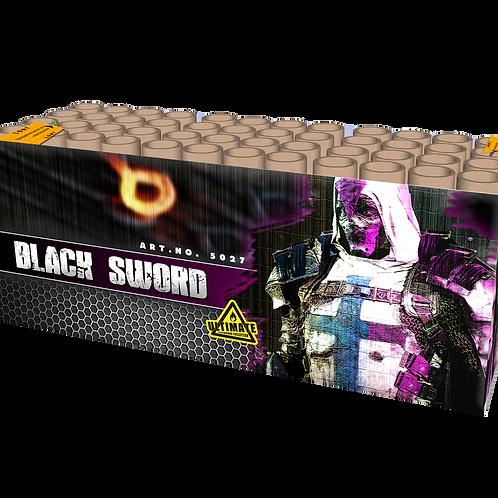 Black Sword - 48 Schuss Verbundfeuerwerk 25mm