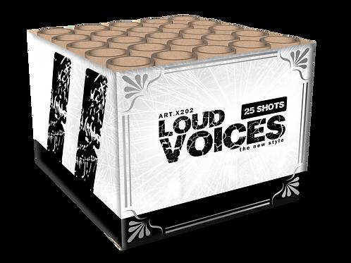 Loud Voices - 25 Schuss Feuerwerksbatterie KATAN