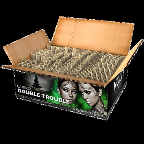 Double Trouble - 205 Schuss XXL Verbundfeuerwerk