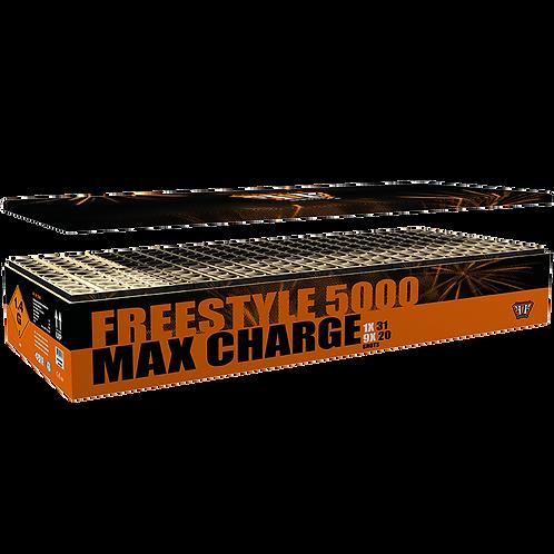 Freestyle 5000 Max Charge - 211 Schuss Mega Feuerwerk Showbox