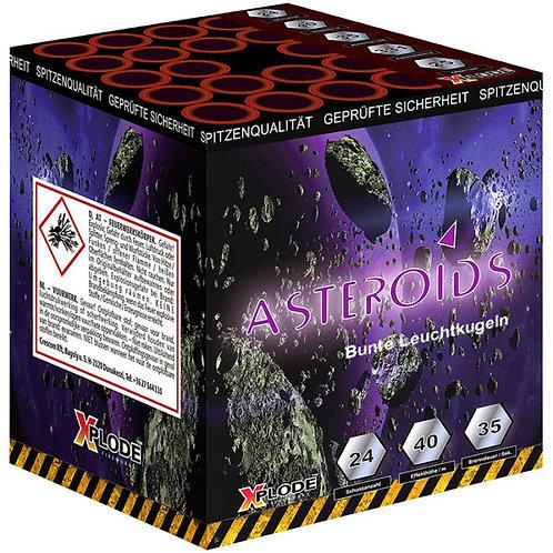 Asteroids - 24 Schuss Fan Feuerwerksbatterie
