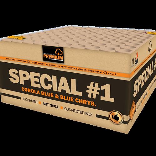 Katan Special #1 - 100 Schuss XXL Verbundfeuerwerk 25mm
