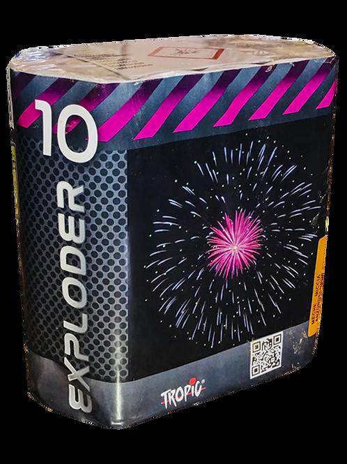 Explorer 10  - 13 Schuss 500NEM Feuerwerksbatterie TROPIC