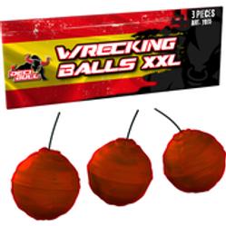 Wreckling Balls - 3er XXL Crackling Balls