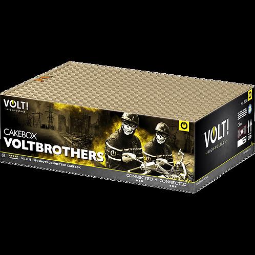Voltbrothers - 384 Schuss XXL Mega Doppel-Verbundfeuerwerk