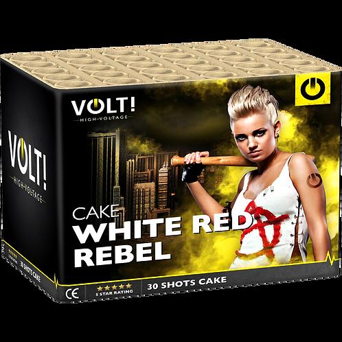 White Red Label - 25 Schuss 500NEM Feuerwerksbatterie