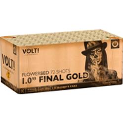 1,0'' Final Gold - 72 Schuss Verbundfeuerwerk