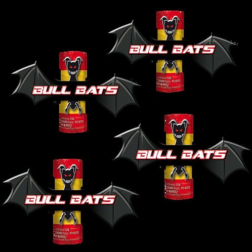 Bull Bats - 4er Feuervögel DECIBULL