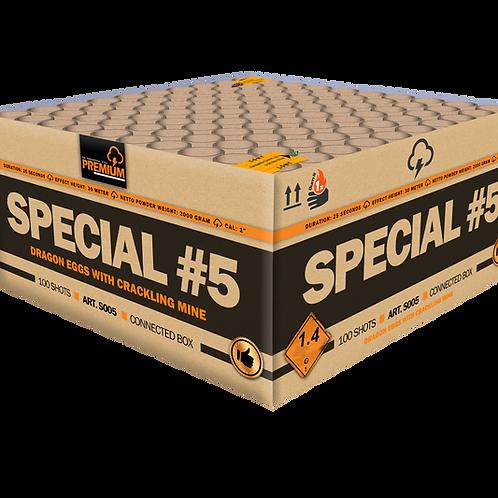 Katan Special #5 - 100 Schuss XXL Verbundfeuerwerk 25mm