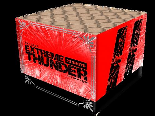 Extreme Thunder - 25 Schuss Feuerwerksbatterie KATAN