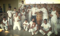 Apresentação de capoeira