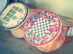 Mosaicos com símbolos