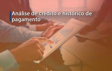 Análise de crédito e histórico de pagamento