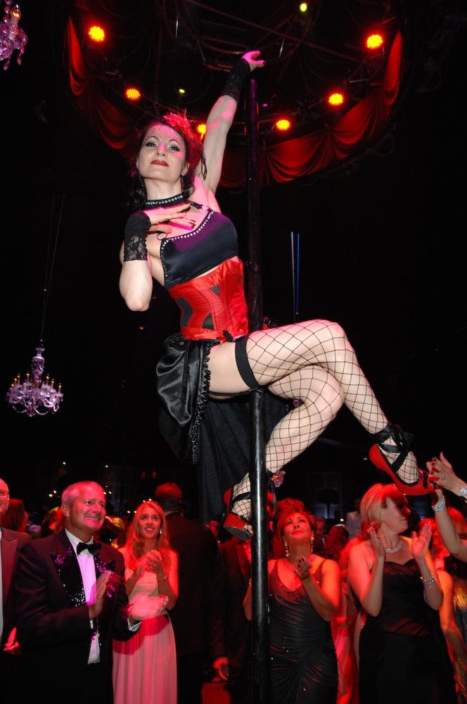 Elton John White Tie & Tiara Ball