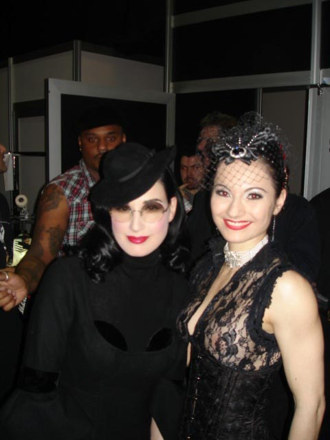 with Dita, London