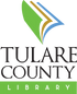 tulare county library logo