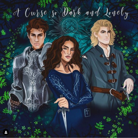 Look at this gorgeous fanart I found on instagram by @jemlincreations