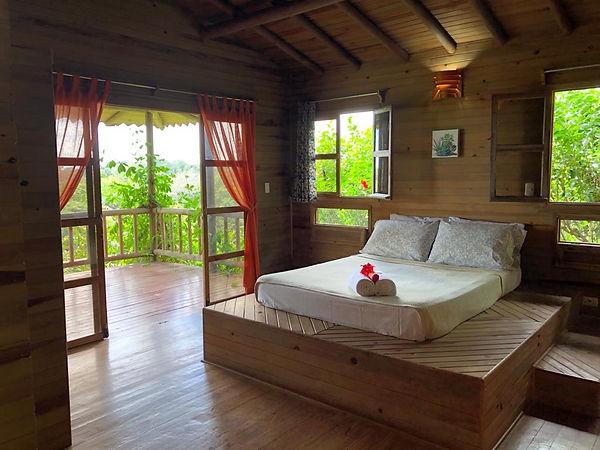 Romantic Built-in Bed