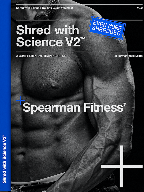 Cover Model Shred-with-Science Blueprint Even More Shredded (RRP £55)