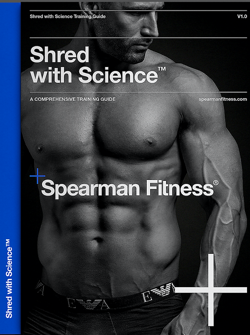 Cover Model Shred-with-Science Blueprint (RRP £55)