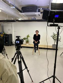 Alumni sharing video shooting day 14 Jan 2021