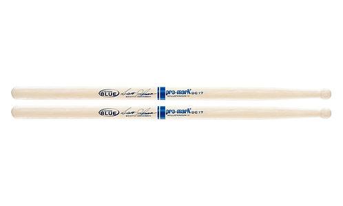 Promark Hickory DC17 Scott Johnson Wood Tip drumstick