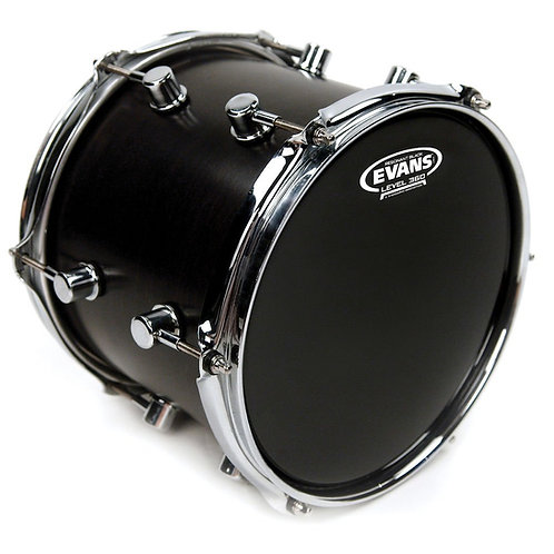 Evans Resonant Black Drum Head 8 Inch