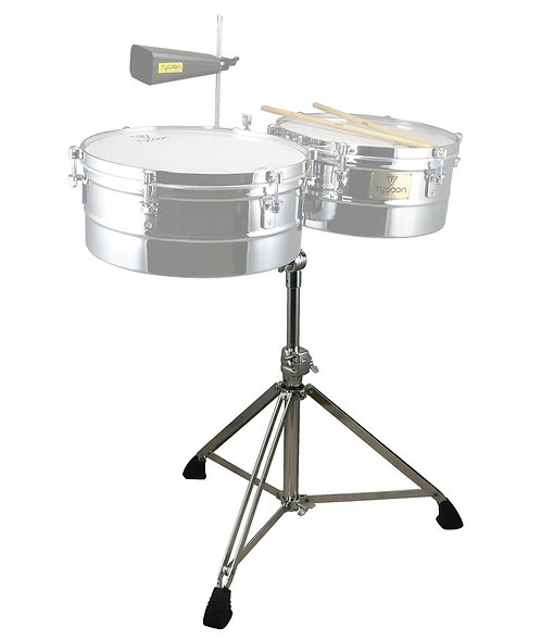 Chrome Timbale Stand