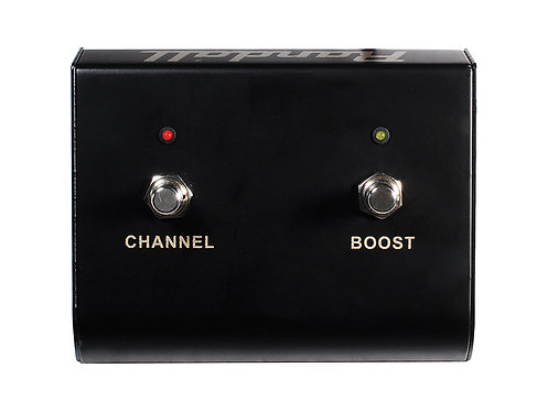 Randall 2 button Ch-Boost-LED   THRASHER 2CH switch