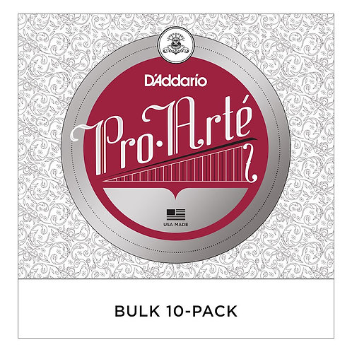 D'Addario Pro-Arte Viola SGL C String Short Scale Med Tension Bulk 10-Pack