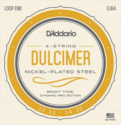 D'Addario�EJ64 4-String Dulcimer Strings