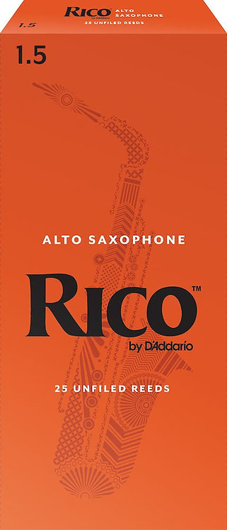 Rico by D'Addario Soprano Sax Reeds Strength 1.5 25-pack