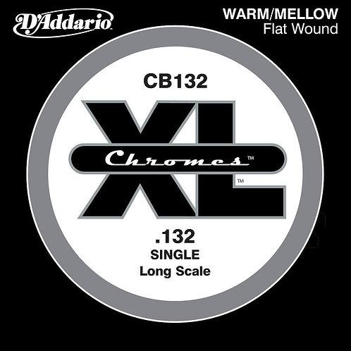 D'Addario CB032 Chromes Bass Guitar SGL String .132