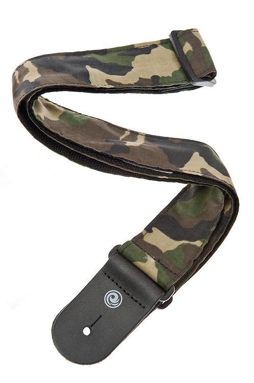 D'Addario Camouflage Guitar Strap