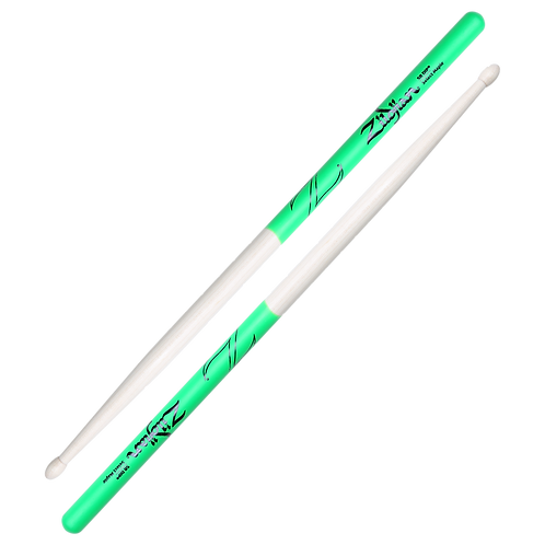 5B Maple Green DIP Drumsticks
