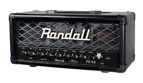 Randall 45 w 2 ch head    with footswitch