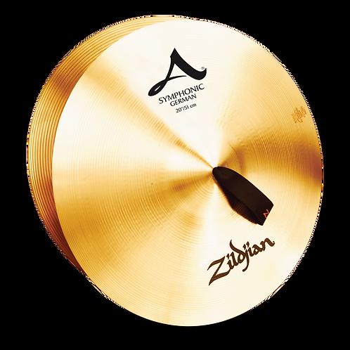 """20"""" A Zildjian Symphonic German Tone"""
