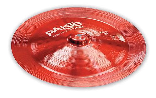 Paiste 18 900 Cs Red China