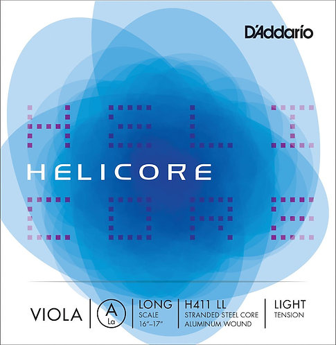 D'Addario Helicore Viola SGL A String Long Scale Light Tension