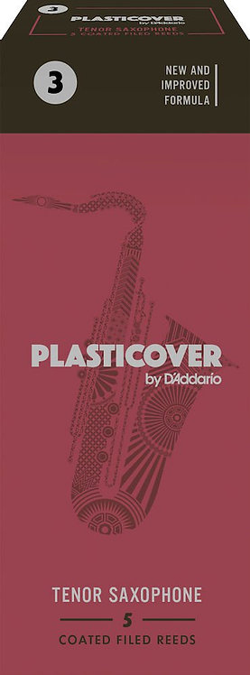 Plasticover by D'Addario Tenor Sax Reeds Strength 3 5-pack