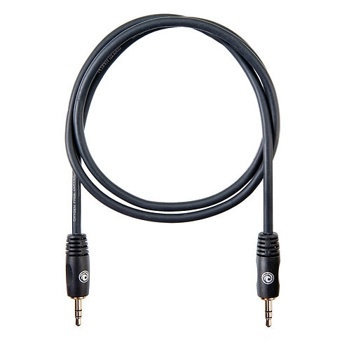 D'Addario 1/8 Inch to 1/8 Inch Stereo Cable 3 ft