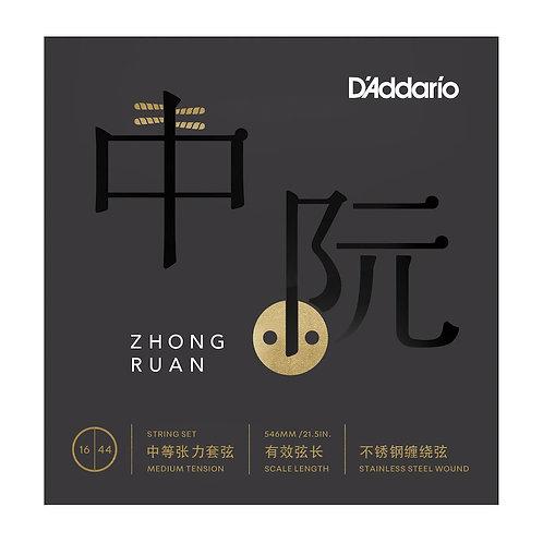 D'Addario RUAN01 Zhongruan Strings Med Tension 16-44.