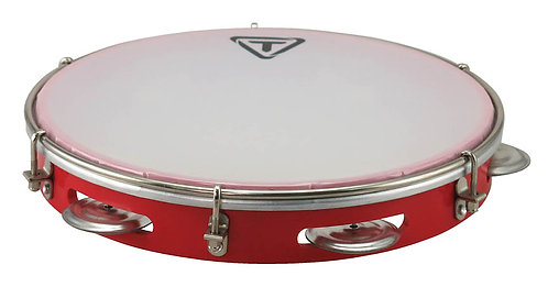 "10"" ABS Pandeiro - Red"