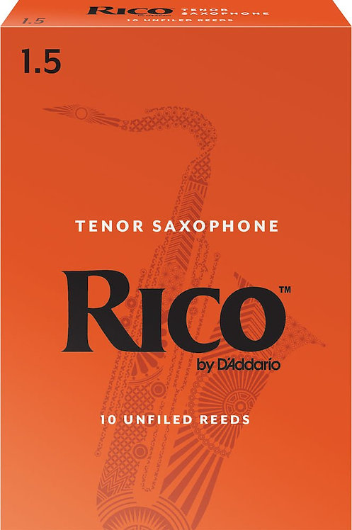 Rico by D'Addario Tenor Sax Reeds Strength 1.5 10-pack