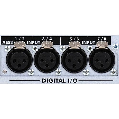 Ashly 8-Ch AES3 Input Card For nXe/nXp/pema/ne44/48/8800