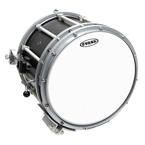 Evans Hybrid White Marching Snare Drum Head 14 Inch